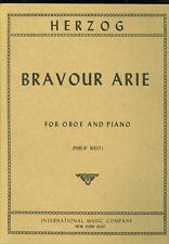 Herzog Bravour Arie for Oboe & piano Sheet Music Book