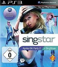 Playstation 3 singstar apres ski party 2 * NEUFS