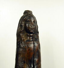 Sculpture religieuse XVIe-XVIIe Vierge Marie religious Virgin Maria carved wood