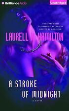 Meredith Gentry: A Stroke of Midnight 4 by Laurell K. Hamilton (2015, CD,...