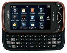 New Verizon Samsung Reality U820 City Red Slider QWERTY