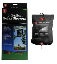 Portable 5 Gallon Camping Shower Solar Heated Outdoor Shower Backpacking Hiking