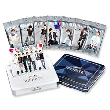 INFINITE OFFICIAL STAR COLLECTION CARD SET VOL.1 LIMITED EDITION + TIN CASE NEW