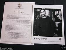 KENNY GARRETT 'STANDARD OF LANGUAGE' 2003 PRESS KIT--PHOTO
