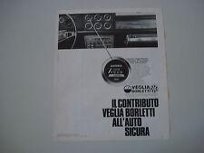 advertising Pubblicità 1973 VOLTMETRO VEGLIA BORLETTI
