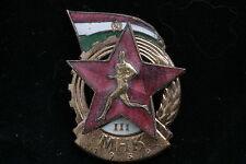 SN #A5653 Hungary Hungarian Badge Sport Award GTO MHK 1950 Class 3 III Rakosi