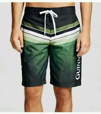NWT NEW Mens Guinness Swimming Trunks green swim suit shorts Small $22.99