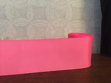 """3"""" 3 inch 75mm Solid Colour Grosgrain Ribbon Hair Bows Cake Crafts Pink Red Aqua"""