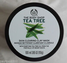 The Body Shop      TEA TREE SKIN CLEARING FACE MASK    New!!  3.85 oz!