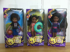 Mattel Barbie So In Style Julian Janessa Zahara SIS brother sisters Chelsea size