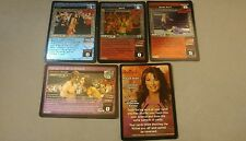WWE Raw Deal SS3 SURVIVOR SERIES VICTORIA 5 card Starter Set RARE!!!