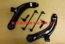 RENAULT CLIO MK3 (05-) WISHBONE CONTROL ARMS + DROP LINKS BARS + TRACK ROD ENDS