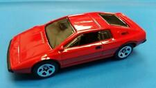 LOTUS ESPRIT S1 - RED with LOGO - 2014 HW WORKSHOP SERIES * HOT WHEELS * OPEN