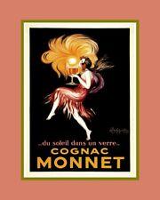 """A 10"""" x 8"""" Art Deco Print - Cognac Monnet"""