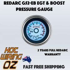 REDARC G52-EB 52mm Boost & EGT Pyro Gauge G52EB