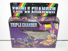 TRANSFORMERS KO TRIPLE CHANGER BLITZWING G1 1980s GLOBO EMPTY BOX ONLY RARE