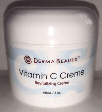 NEW VITAMIN C REVITALISING ANTI AGEING ANTI WRINKLE SKIN CREME CREAM FACE SERUM