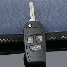 3 Buttons Replacement Flip Remote Key Shell Case For VOLVO 850 960 1997 C70 S40