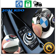 LOGO BADGE STICKER BOUTON 3D ★BMW IDRIVE★ 29MM GPS MULTIMEDIA CONTROLLER