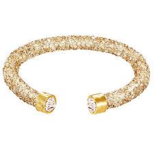 Shiny amber single crystaldust bracelets and bangle crystal stardust bracelets