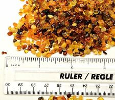 100% GENUINE BALTIC AMBER Loose Rounded Beads / Chips 10g for Jewelry Crafts