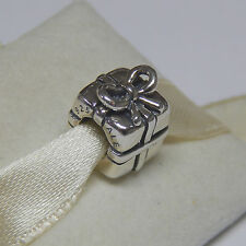 New Authentic Pandora Charm 790300 Present Gift with Ribbon Bow Box Included