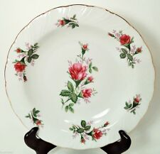 LYNN'S FINE CHINA VICTORIAN ROSE SET (s) OF 2 LG RIM SOUP BOWLS