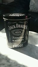 JACK DANIEL'S Metal Oval Tin No.7 Old Brand Tennessee Whiskey Fudge