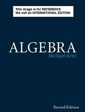 Algebra by Michael Artin (Softcover 2nd Edition, 2010)