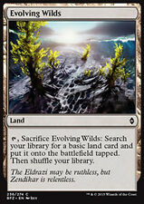 MTG 4x EVOLVING WILDS - TERRE SELVAGGE IN EVOLUZIONE - BFZ - MAGIC