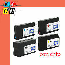 4 Cartucce + CHIP compatibili  HP950 951 XL All-in-One HP Officejet Pro 8615
