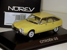 CITROEN GS 1971 PRIMEVERE YELLOW NOREV 158215 1/43