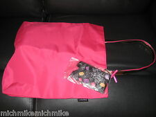 Brand New LANCOME Reversible Tote Bag with Mini Pouch/Wristlet very cute print