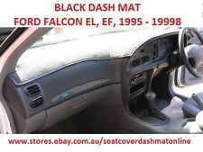 DASH MAT, BLACK DASHMAT, DASHBOARD COVER , FORD FALCON EF,EL 1995 - 1998, BLACK