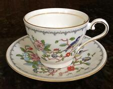 Aynsley PEMBROKE Cup & Saucer Set -no trim on foot - Bone China GREAT CONDITION