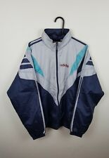 MENS VTG URBAN ATHLETIC SPORTS ADIDAS ZIP-UP SHELLSUIT TRACKSUIT TOP JACKET UK L