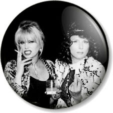 "Ab Fab Patsy and Eddie 25mm 1"" Absolutely Fabulous Edina Monsoon Stone Comedy TV"