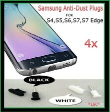 4x Anti-Dust Stopper For Samsung Galaxy,S3,S4,S5,S6,S6 Edge,S7,S7 Edge