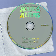 Monsters Vs Aliens 2009 PG animated family movie mint DVD Witherspoon DreamWorks
