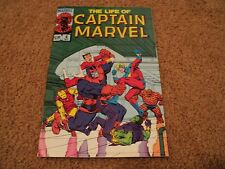 The Life of Captain Marvel #4 (Nov 1985, Marvel) Thanos good condition
