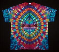 Hippie tie dye Batik Flowerpower Goa A Maniche Corte T-shirt Mano Colorati Taglia 3xl NUOVO