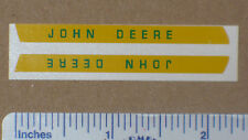 Hood Decal Set for 1/16 3010 or 7020 JOHN DEERE Toy Tractors Computer Cut