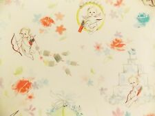 Vintage Valentine Cupid Bow and Arrow 1 Sheet Gift Wrapping Paper