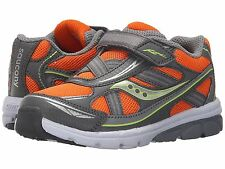 Saucony Boys Sneakers Orange/Grey Infants Boys Size 5 Wide