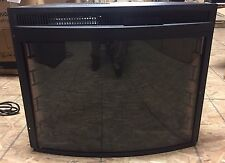 """28"""" CURVED ELECTRIC FIRE PLACE - REFURBISHED"""