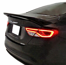 CHRYSLER 200 FACTORY STYLE UNPAINTED REAR WING SPOILER 2015-2016