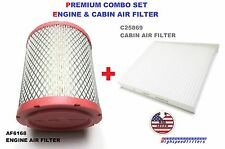 AF6168 C25869 ENGINE & CABIN AIR FILTER COMBO FOR JEEP COMPASS PATRIOT CALIBER