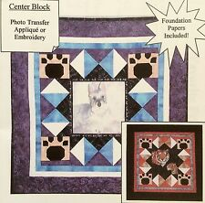BB Quiltworks Applique Quilt Pattern FAVORITE FRIEND  Photo Transfer / Embroider
