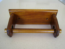 PAPER TOWEL HOLDER UNDER CUPBOARD /BENCH.SOLID TIMBER/WOODEN