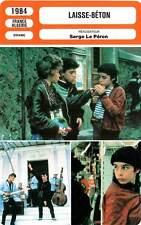 FICHE CINEMA : LAISSE BETON - Gangnet,Ayadi,Le Péron 1984